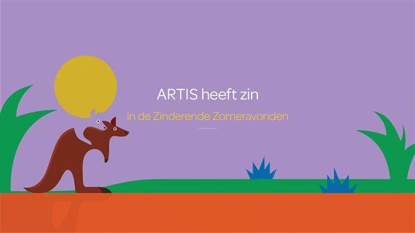 Zinderende Zomeravonden in ARTIS