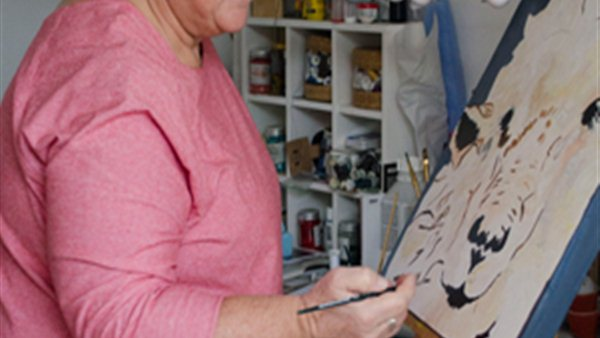 Creatieve schilderworkshop