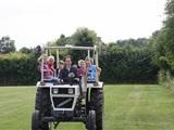 Broem Broem Rijden op een échte tractor