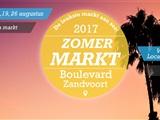 Zomer markt boulevard Zandvoort