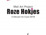 Mail Art Project Roze Hokjes