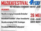 Muziekfestival 4you goes