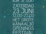 Grote Kanaal30 Openingsfestival