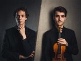 Pieter van Loenen viool en Tobias Borsboom piano