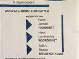 Bach stroomt door Hattem