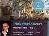 Orgelconcert door Peter Eilander in Utrecht