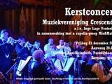 Kerstconcert van muziekvereniging Crescendo