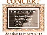 Zondagmiddagconcert Pianokwartet Fauré