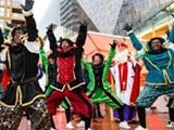 Sinterklaas intocht Winkelcentrum Cityplaza