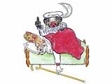 Sinterklaas komt logeren en ontbijten