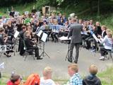 Concert ODO in de bossen van Odoorn