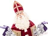 Sinterklaas komt naar Johan en Caroline