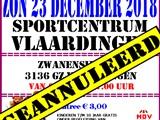 Rommelmarkt Sportcentrum Vlaardingen Geannuleerd