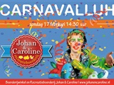 Carnaval bij Johan en Caroline