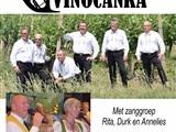 Blaaskapel Vinocanka met zang in Beilen