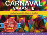 Carnavals vakantie Johan en Caroline