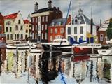 Ineke de Vries exposeert schilderijen