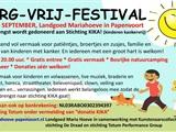 Zorg Vrij Festival tbv Stichting KIKA