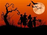 Halloweentocht bij De Smaeckkamer in Beverwijk