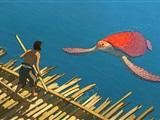 The Red Turtle in Islemunda