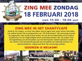 Zing Mee In Het Shantycafe In Driebergen