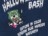 Metal Halloween Bash - Outline In Color
