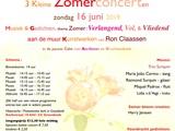 3 kleine Zomer Concerten-gedichten & schilderijen