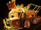 Wooden Light Parade