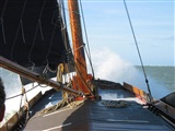 Zeiltocht met authentiek Skutsje op Sneekermeer