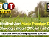Houtfestival viert Music Freedom Day