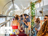 Silent Disco in de Tram - De Geheime Tuin