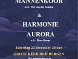 Kerstconcert Stichts Mannenkoor & Harmonie Aurora