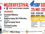 Muziekfestival 4You Goes