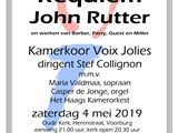 Requiem Rutter - Voix Jolies - Voorburg