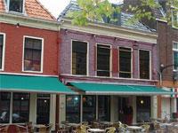 Live muziek bij café Zelle in Leeuwarden, Friesland