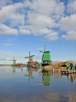 De Zaanse Schans in Zaandam, Noord-Holland