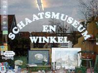 Het Eerste Friese Schaatsmuseum in Hindeloopen, Friesland