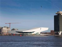 EYE Film Instituut Nederland in Amsterdam, Noord-Holland