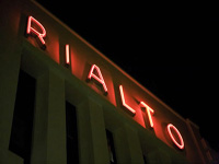Filmtheater Rialto in Amsterdam, Noord-Holland