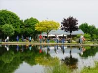 Forellenvijvers Maashof in Boekend, Limburg