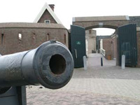 Fort Kijkduin in Den Helder, Noord-Holland