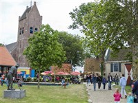 Fries Museumdorp Aldfaers Erf in Allingawier, Friesland