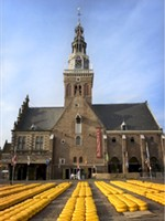Hollands Kaasmuseum in Alkmaar, Noord-Holland