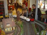 Het Nationaal Modelspoor Museum in Sneek, Friesland