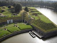 Het Nederlands Vestingmuseum in Naarden, Noord-Holland
