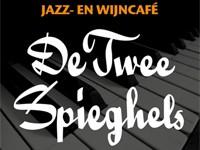Jazzcafé De Twee Spieghels in Leiden, Zuid-Holland