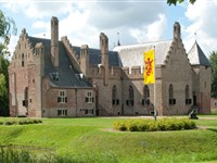Kasteel Radboud in Medemblik, Noord-Holland