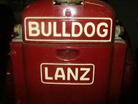 Opening Lanz-Bulldog museum Vollenhove in Vollenhove, Overijssel