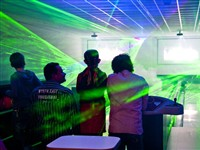 LED's Go Showbowling in Zuna, Overijssel