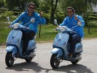 Motorette Vespa verhuur in Aalten, Gelderland
